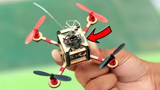 How To Make Drone with Camera At Home (Quadcopter)
