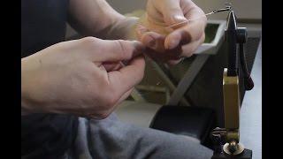 Поводок для жерлицы из флюрокарбона изготовление