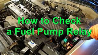 Toyota efi relay replacement most popular videos how to check a fuel pump relay in car fandeluxe Images