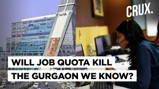 Haryana Keeps 75% Private Jobs For Locals, End Of Gurgaon Story Or Model For Bangalore & Hyderabad? - Download this Video in MP3, M4A, WEBM, MP4, 3GP