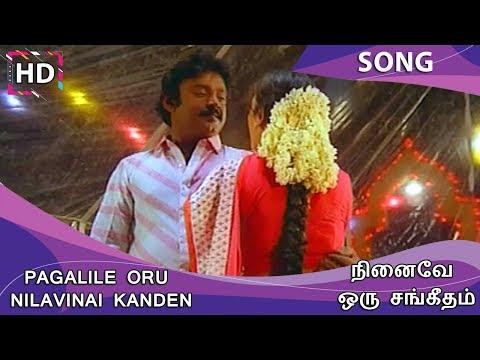 Pagalile Oru Nilavinai Kanden HD Song - Ninaive Oru Sangeetham