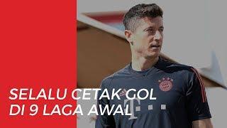 Selalu Mencetak Goal, Robert Lewandowski Pecahkan Rekor Bundesliga