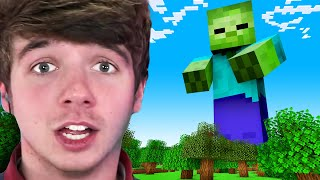 Minecraft, But I'm Hunted By A Giant!