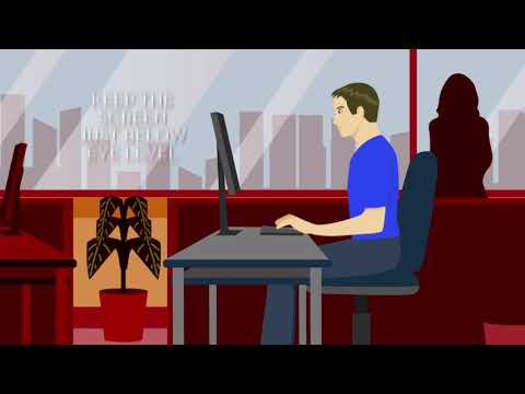 The perfect computer posture