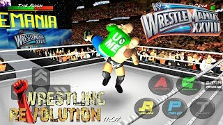wrestling revolution 3d how to make wwe championship - TH-Clip