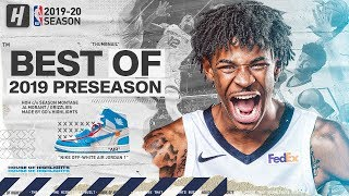 Ja Morant NBA DEBUT! BEST Highlights & Plays from 2019 NBA Preseason!