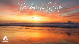 8 Hours The Book of PSALMS FOR SLEEP   Bible Verses Bible Stories & Prayers with Relaxing Music