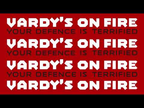 Vardy's on Fire