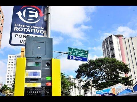 Zona Azul de São José deve aumentar para R$ 2/hora a partir de 2020