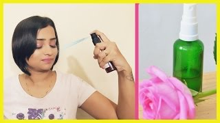 How To Make MAKEUP FIXING SPRAY At Home/ Affordable Natural Makeup Setting Spray/ Indian Mom On Duty