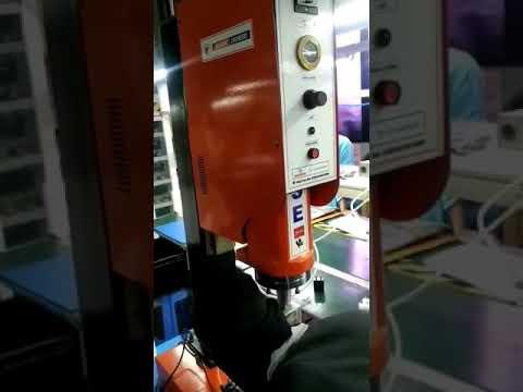 Ultrasonic Face Mask Double Ear Loop Welding Machine