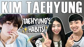 Couple Reacts To: BTS Kim Taehyung's Habits Reaction