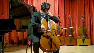 Guy Rabut cello, New York 1987