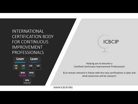ICBCIP overview of continuous improvement professionals ...