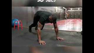At Home Workout With Todd Stoute