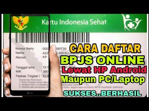 Cara Daftar BPJS Online pake HP April 2019