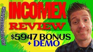 IncomeX Review, Demo, $5947 Bonus, IncomeX App Review