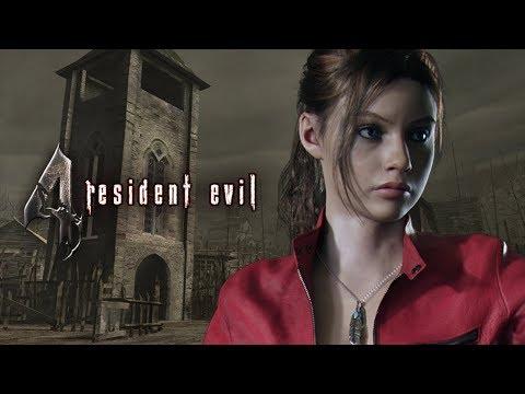 RE4 mods: Claire Redfield (RE2) - смотреть онлайн на Hah Life
