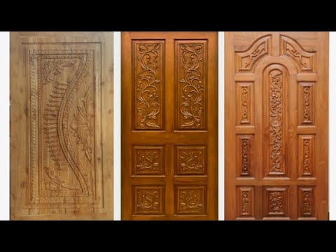 Tamil Nadu House Single Wood Door Design - Exclusive Kitchen & Room on