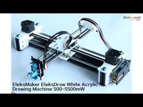 EleksMaker® EleksDraw XY Plotter Pen Drawing Robot Drawing