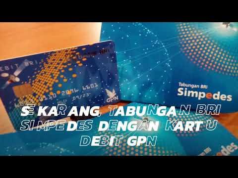 #simpedesbri | Kartu Debit GPN Bank BRI dengan teknolgi CHIP