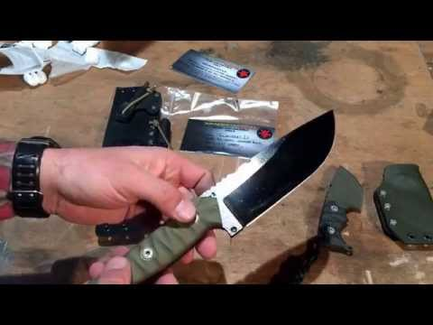 Wander Tactical | Introducing theiIncredible Megalodon D2 knife