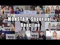 "MONSTA X 몬스타엑스 'Shoot Out' MV ""Reaction Mashup"""