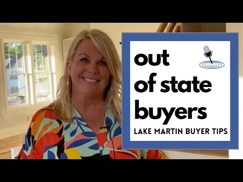 Tips for Buying at Lake Martin, Alabama From Out of State
