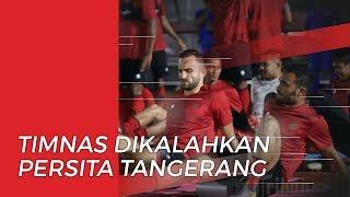 Jalani Uji Coba, Timnas Indonesia Tumbang 1-4 Lawan Persita Tangerang