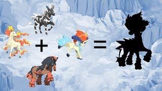 Zebstrika  - (Pokémon) - Pokemon Fusion Requests #96: Zebstrika + Rapidash + Mudsdale + Keldeo.