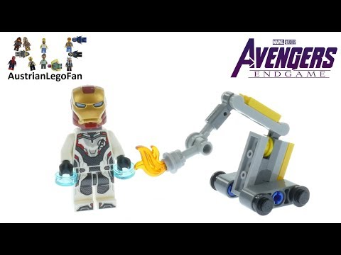 Vidéo LEGO Marvel 30452 : Iron Mac and Dum-E (Polybag)
