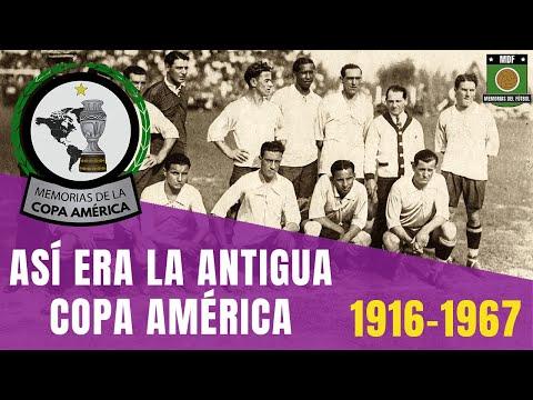 Historia COPA AMÉRICA (1916-1967) | Asi era la Antigua Copa Sudamericana