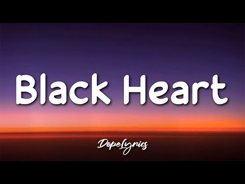 Natalie 2V - Black Heart (Lyrics) 🎵