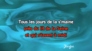 Karaoké A Paris - Yves Montand *