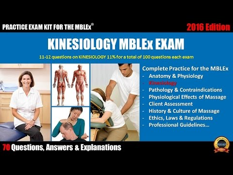 Kinesiology MBLEx exam (70 Questions, Answers & Explanations)