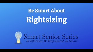 Be Smart About Rightsizing
