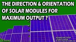8- Sun Path And Tilt Angle  | Basics of Solar Energy