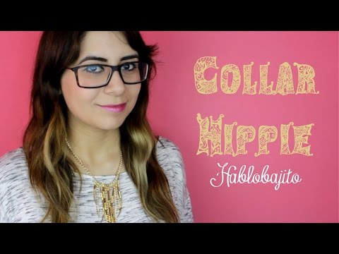 a8bb6e89cee3 Collar Hippie   Cómo hacer un collar hippie - Hablobajito