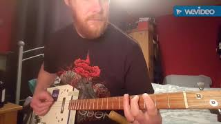 How to play Just A Little Heat by The Black Keys on Cigar Box Guitar