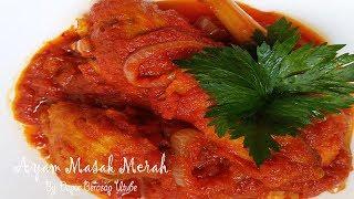 Resepi Ayam Masak Merah Mudah Sedap   Ayam Masak Sambal (MESTI CUBA!!)
