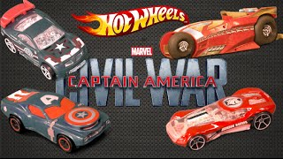 Hot Wheels Captain America: Civil War