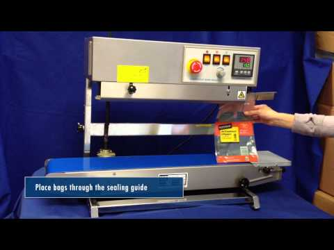 Sealer Sales CBS 880II Vertical Band Sealer CBS-880II Vertical Stainless Steel Band Sealer