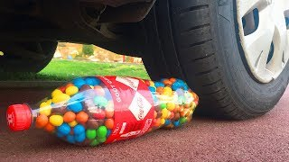 Crushing Crunchy & Soft Things by Car! - EXPERIMENT: CAR VS PLASTIC FOOT