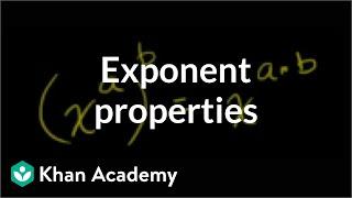 Exponent Properties 3
