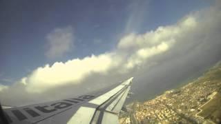 preview picture of video 'A321 Alitalia take-off Rome Fiumicino'