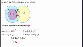 KÜMELER SORU ÇÖZÜMÜ-2 (HAKAN HOCA)