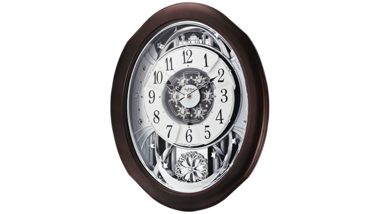 "Anthology Espresso 21"" High Motion Wall Clock"