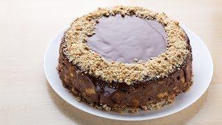Торт без выпечки «Пятиминутка». самый ленивый рецепт