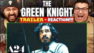 THE GREEN KNIGHT | Teaser TRAILER - REACTION!!! (A24)