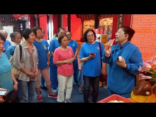 松山慈惠堂 第四期志工特殊訓練 廟宇文化解說導覽